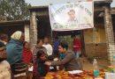 দুস্থদের চিকিৎসার জন্য ফ্রি মেডিক্যাল  ক্যাম্প ও ঔষধ বিতরণ করছেন মোথাবাড়ি এলাকার চিকিৎসক টিংকু শেখ