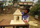 দেশলাইয়ের কাঠি দিয়ে প্রজাতন্ত্র দিবস উপলক্ষে তৈরি করলো ইন্ডিয়া গেট