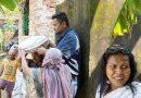 শান্তিপল্লী এলাকায় ধস। মেরামতের কাজে এগিয়ে এলেন টাউন তৃণমূল কংগ্রেসের সভাপতি অমিত সাহা